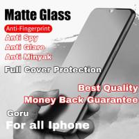Tempered Glass anti spy matte Iphone X Xr Xs Max 11 pro 11pro Max Full