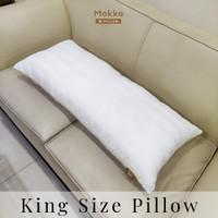 Mokka KING - King Size Pillow / Bantal Microfiber (45x100)