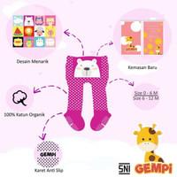 GEMPI Legging Bayi Anti Slip Kaki Tertutup Motif Girl / Cewek