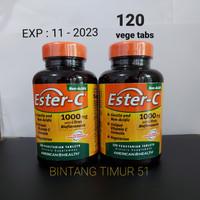 Ester-C 1000mg - American Health isi 120 Vege tabs EXP 11- 2023