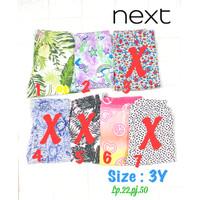 Celana legging panjang anak perempuan 3 tahun next branded sisa ekspor