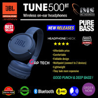 JBL Pure Bass Sound Bluetooth T450BT Wireless On-Ear Headphones