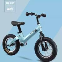 sepeda anak tanpa pedal 2 roda - Biru Muda