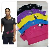 Baju Atasan Wanita / Kaos Olahraga Senam