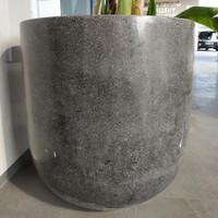 Pot Teraso Granit Hitam