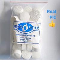 Klorin - Chlorine - Kaporit Tablet Filter Air - Penjernih Air Nico