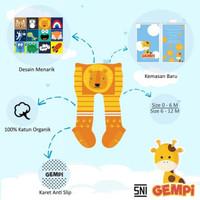 GEMPI Legging Bayi Anti Slip Kaki Tertutup Motif Boy / Cowok