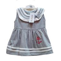 Sailor Girl Dress / Baju Bayi Perempuan / Setelan Bayi Perempuan