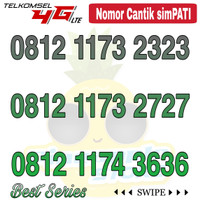 Nomor Cantik Simpati telkomsel 4G LTE seri 0812 Axax