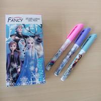 pen karakter frozen/pulpen/pena karakter/pulpen karakter/pena murah