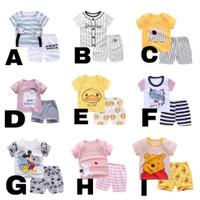 Summer Short set for Unisex Baby / Setelan Pendek Main Anak Bayi