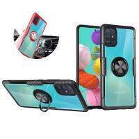 Clear Ring Softcase Samsung Galaxy A51 A515F SamsungA51 Case Casing HP