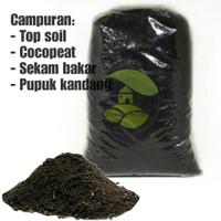 media tanam tanah subur/media tanam humus kompos 1kg