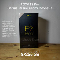 Xiaomi Poco F2 Pro 8/256GB SD865 30W UFS 3.1 64MP Garansi Resmi - Abu-abu