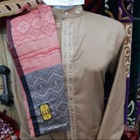 temurah baju koko wadimor + sarung wadimor premium+ bonus peci putih