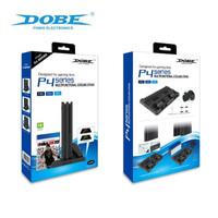 PS4 Dobe Multifunctional Cooling Stand / Kipas Fan Ps4 Pro Slim Fat