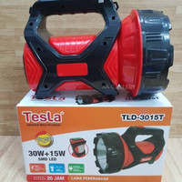 Senter tangan Tesla TLD - 3015T Rechargeable LED Senter Emergency [30