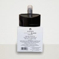 PARFUM ORIGINAL 100% ETIENNE AIGNER BLACK 125ML TESTER NEW BPOM BOX