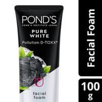 PONDS PURE WHITE POLLUTION D-TOXX FACIAL FOAM 100 GR