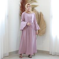 Fashion Baju Gamis Dress Tunik Wanita Muslim Terbaru Jeslyn Maxi