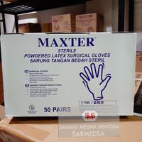 Sarung Tangan bedah Steril MAXTER 6½, 7, 7½, 8