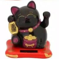 pajangan kucing keberuntungan hoki maneki neko + PACKING BUBBLE WARP