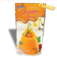 Puding Susu Nutrijell. Pudding Susu Nutrijel Mangga 170gr