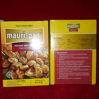 Ragi instan aktif mauri-pan instant dry yeast high activity 4x12g