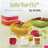 Ready Stock Lolly Tup kotak Makan bekal Tuperware