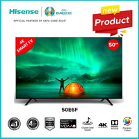 HISENSE 50 Inch Smart Digital LED 4K UHD TV - 50E6F