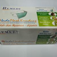 Masker Hijab Remedi / Masker Jilbab Remedi isi 50