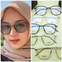 paket lensa phtocromic~kacamata minus antiradiasi - ung