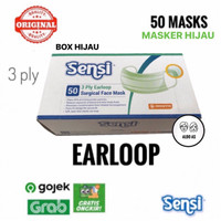 Masker Sensi Earloop isi 50 pcs