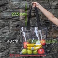 Tote Bag / Tote Bag Transparant / Plastik Bag / Travel Bag