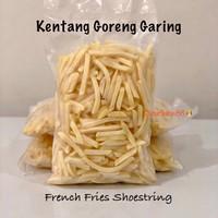 KENTANG GORENG Shoestring Straight cut French Fries garing frozen 1 Kg