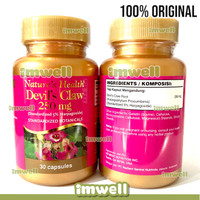 Nature's Health Natures Devils Claw 250mg Vitamin Sendi - 100% ORI