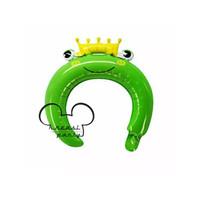 Balon Bando Anak Karalter Frog / Balon Foil Bando Karakter Headband
