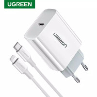 UGREEN 18W PD Fast USB Charger Quick Charge 4.0 3.0 Type C