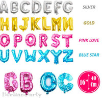 Balon foil huruf dan angka ukuran 40cm