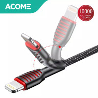 ACOME Kabel Data iPhone 100cm AiC Fast Charging