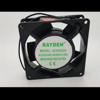 Cooling Exhaust Fan kipas Pendingin Rayden 9cm AC 220/240v 90x90x25
