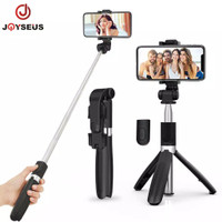Joyseus Bluetooth Selfie Stick Portabel/ Tongsis/ Tripod With Remote