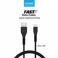 ACMIC GM100 Kabel Data Charger Micro USB 100cm Fast Chargin