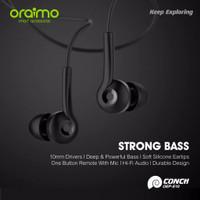 Oraimo Headset / In-Ear Earphone / Handsfree dengan Mic Universal 3.5m