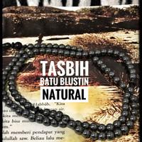 Tasbih Batu Blustin Natural 99 Butir - Aji_Assalam2008