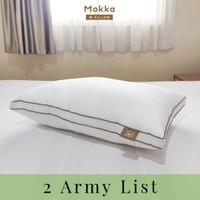 Mokka ARMY - Bantal Microfiber (47x67)