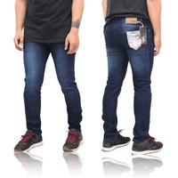 celana jeans pria skinny original SM KILLER size 28-38 - Bluejazz Scrub, 34