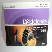 Senar Gitar Akustik Daddario / D'addario EJ 13 Original USA