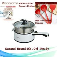 ECOHOME Electric Multi Cooker / Pemasak Listrik Serbaguna Slow & Fast