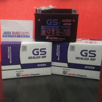 Gs astra Gtz5s ORIGINAL aki motor kering 12v 3.5ah